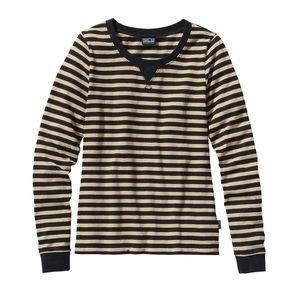 Patagonia sender stripe organic long sleeve shirt